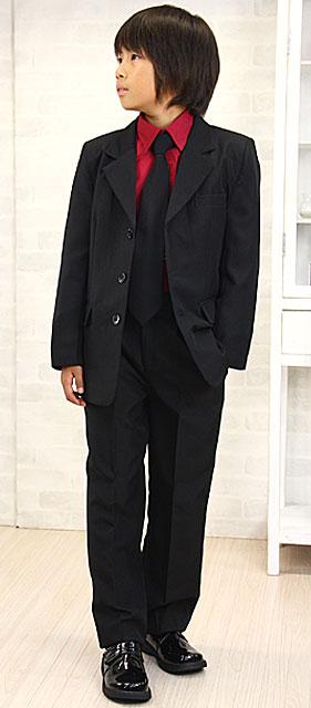 スタイリッシュスーツ4点セット カラーネクタイおまけつき