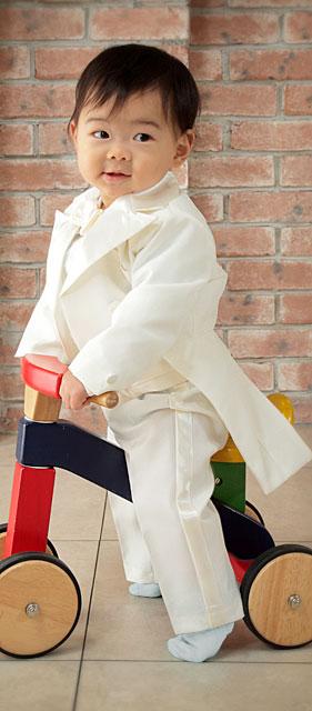 ベビー燕尾服タキシード5点セット