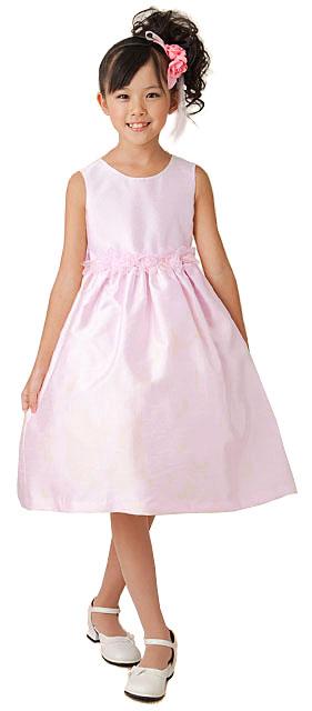 オーガンジーローズドレス/ピンク