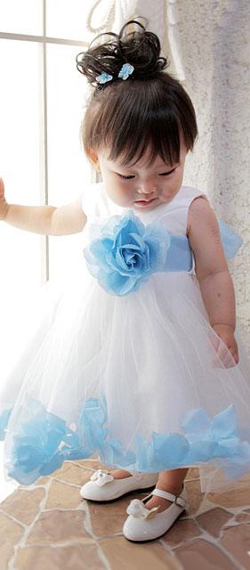 ベビーフローラルワルツドレス