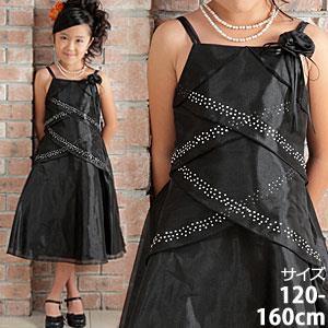 シンデレラオーガンジードレス/ブラック
